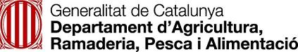 logo Departament d'Agricultura, Ramaderia, Pesca i Alimentació